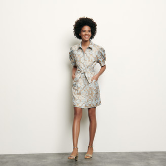 Sandro Brocade coat dress