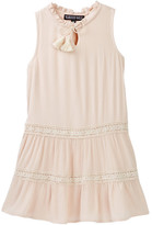 Trixxi Sleeveless Tiered Crepe Dress (Big Girls)