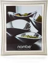 Nambe Beaded Frame, 8 x 10