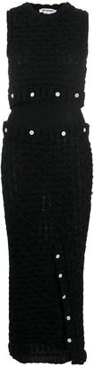 Sunnei Button-Up Maxi Dress