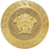 Versace Gold Big Coin Ring
