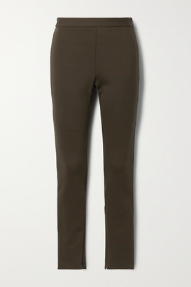 Theory Stretch-jersey Skinny Pants - Dark green