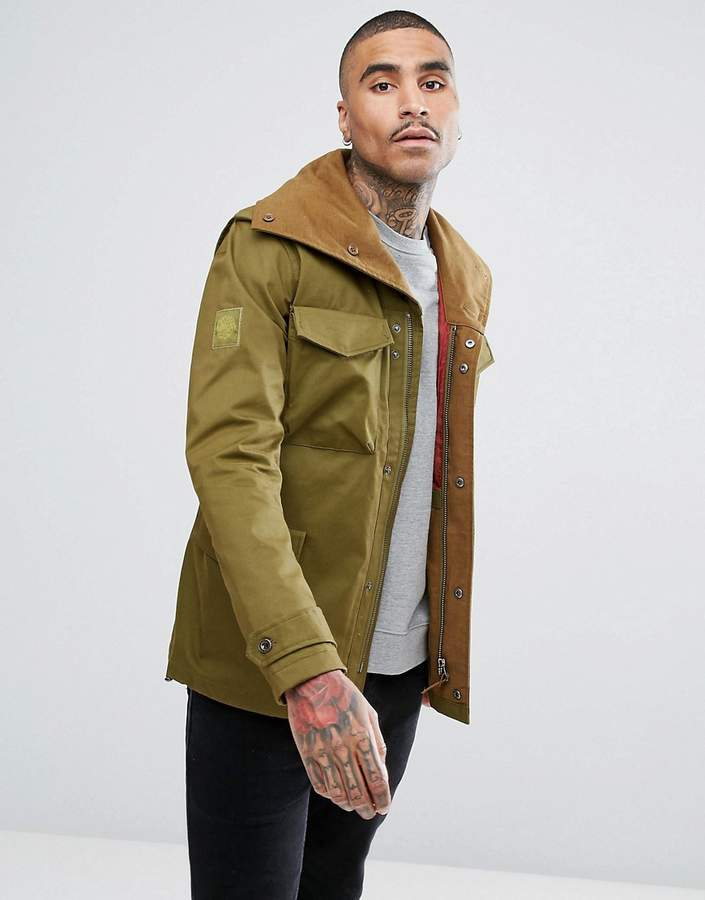 Pretty Green Roeburn Jacket In Green