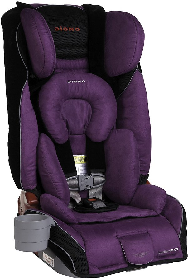 Diono Radian RXT Birth to Booster Car Seat - Plum