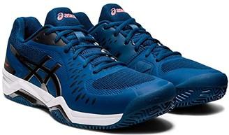 Asics Gel-Challenger 12 Clay (Mako Blue/Gunmetal) Men's Tennis Shoes