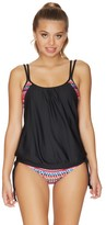 Next Body Renewal Double Up Tankini Top