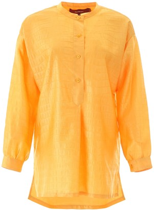 Sies Marjan Azra Embossed Tunic Top