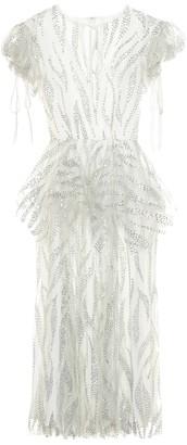 Rodarte Embellished midi dress