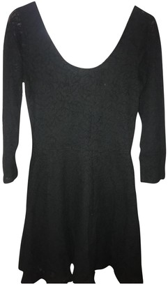 Abercrombie & Fitch Black Cotton Dress for Women