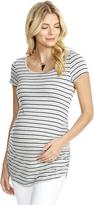 Motherhood Jessica Simpson Back Interest Maternity T Shirt