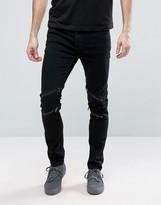 Cheap Monday Tight Jeans Inter Black Wash