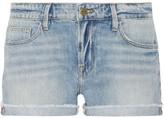 Frame Le Grand Garcon Denim Shorts - Light denim