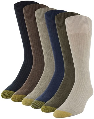 Gold Toe Men's GOLDTOE Stanton Socks - 6-Pack + 1 Bonus Pair