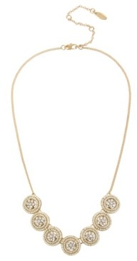 Miriam Haskell New York Woven Beaded Frontal Delicate Necklace