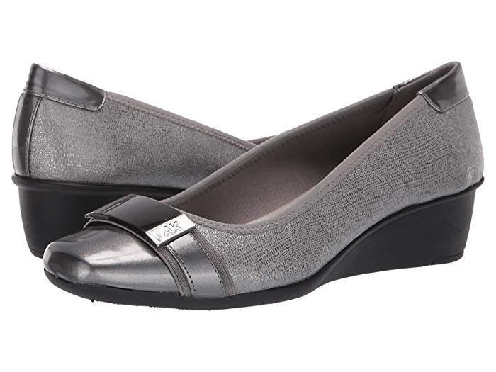 83a248a8b Anne Klein Sport Shoes Pewter - ShopStyle