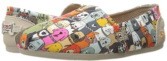 BOBS from SKECHERS Bobs Plush - Wag Party (Multi) Women's Flat Shoes