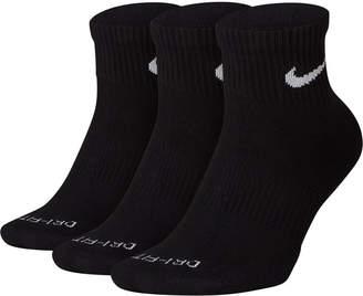 Nike Dri-fit Cushion Quarter Socks 3-Pack