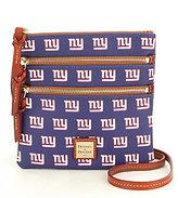 Dooney & Bourke NFL Collection New York Giants Triple-Zip Cross-Body Bag