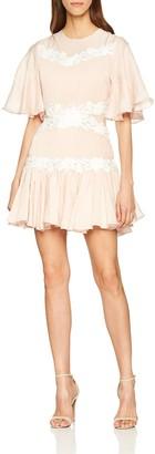 Keepsake The Label Women's Short Flutter Sleeve Drop Skirt Mini Dress