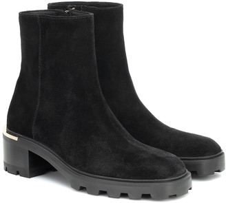 Jimmy Choo Melodie 35 suede ankle boots