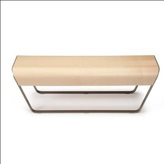 Offi Momo Bench Color: Birch