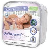 Protect A Bed Protect-A-Bed QuiltGuard Cotton Mattress Pad