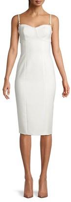 LIKELY Lace-Trim Sheath Dress