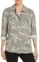 Vintage Havana Lace-Up Camo Shirt
