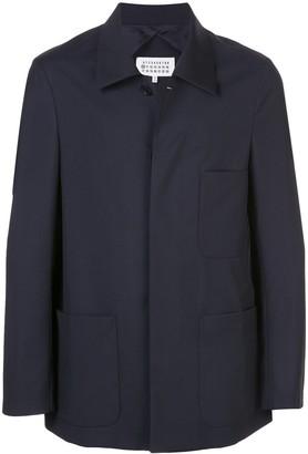 Maison Margiela Three-Pocket Buttoned Overshirt