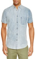 Zanerobe Acid Denim Regular Fit Button Down Shirt
