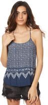 Rusty Desert Flower Cami Blue