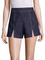 Alexis Meghan Slit Denim Shorts