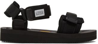 Suicoke Black CEL-V Sandals
