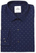 Ben Sherman Navy Skinny Fit Poplin Dress Shirt