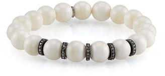 Sheryl Lowe Bone & Pave Diamond Bracelet