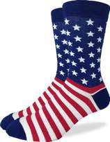 Good Luck Sock Men's American Flag Crew Socks