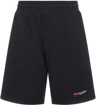 Givenchy Logo Track Shorts