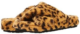 Steve Madden Fuzed Slipper (Leopard) Women's Shoes