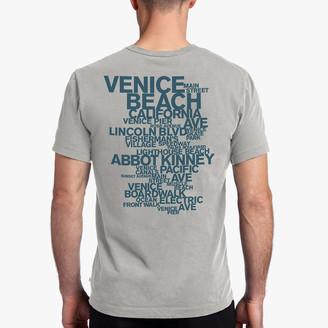 James Perse Venice Beach Graphic Tee