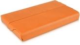 Giorgio Fedon Orange Business Card Holder
