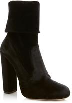 Elie Saab Foldover Ankle Boot