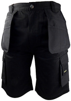 Stanley Warren Men's Black Holster Shorts - 30 inch
