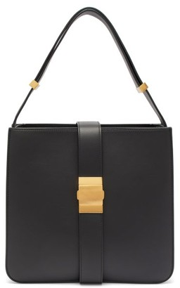 Bottega Veneta The Marie Leather Shoulder Bag - Black
