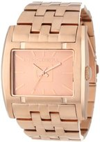 Rockwell Time Unisex AP113 Apostle Rose Gold-Plated Stainless Steel Watch