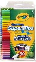 Crayola 50-pk. Super Tips & Silly Scents Markers