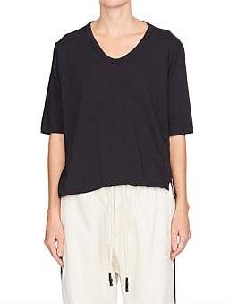 Bassike Scoop Neck Boxy S/S T.Shirt