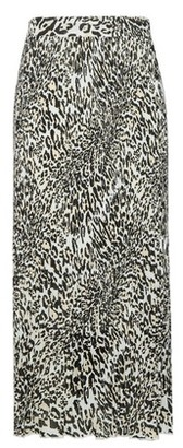 Dorothy Perkins Womens Multi Colour Animal Print Midi Skirt