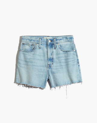 Madewell The Perfect Jean Short in Millman Wash