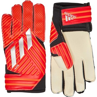 adidas NMZ Lite Goalkeeper Gloves Active Red/Silver Metallic/Solid Red