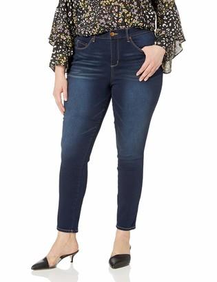 Vintage America Blues Women's Plus Size Seamless Body Positive Skinny Jean
